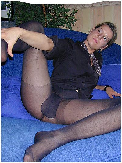 mollige frauen in nylons